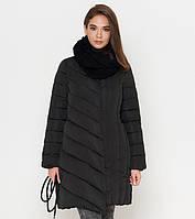 Зимняя куртка женская черная  ( 44,  50)