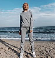 Женский спортивный утепленный костюм / трехнитка на байке / Украина 27-166, фото 1