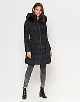 Зимняя куртка женская черная ( 46 48 50)