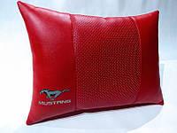 Подушка ортопедическая в автомобиль Ford MUSTANG красная