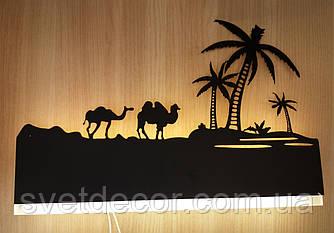 """Бра светодиодное настенный LED светильник 11W """"Верблюды"""" 9289/1"""