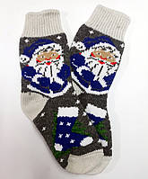 Носки женские из натуральной шерсти