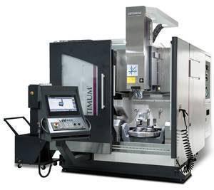 Фрезерный 5-осевой обрабатывающий центр с ЧПУ Optimill FU 5-600 HSC