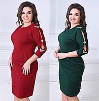 "Женское платье с карманами ( жіноче плаття ) ""Мариса"" Батал"