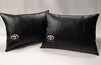 Подушка ортопедическая в автомобиль Toyota черная