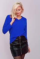 Donna-M Джемпер с V-образным вырезом MIRT синий , фото 1