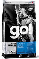 Go!Для щенков и взрослых собак со свежей курицей, фруктами и овощами (Daily Defence Chicken Dog Recipe)11.34кг