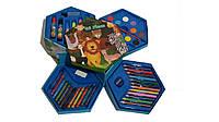 """Набор для рисования 46 предметов  """"Зоопарк"""""""