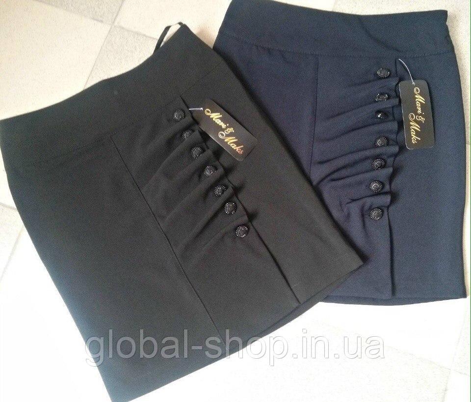 Школьная юбка для девочки  мод№ 0515-1 , (возрастная категория с 9 до 13 лет) , (разм38-40-42-44 )