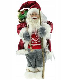 Новорічна інсталяція фігурка Санта Клауса 50 см
