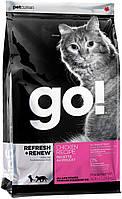 Go!Для котят и кошек со свежей курицей, фруктами и овощами (Refresh + Renew Chicken Cat Recipe 32/20) 3.63 кг