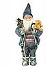 Новорічна інсталяція фігурка Санта Клауса 90 см, фото 3
