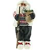 Новорічна інсталяція фігурка Санта Клауса 90 см, фото 5