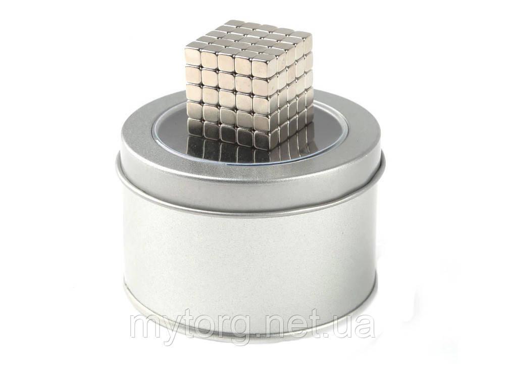 Магнит Neo Cube квадратный 5 мм 125шт Неокуб Игрушка
