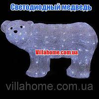 Фигура медведя для Нового года. Длина 59 см, фото 1