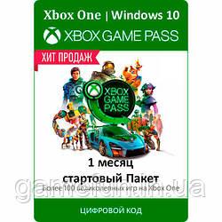 Xbox Game Pass 1 Месяц (Стартовый пакет) (Все страны) (цифровой код)