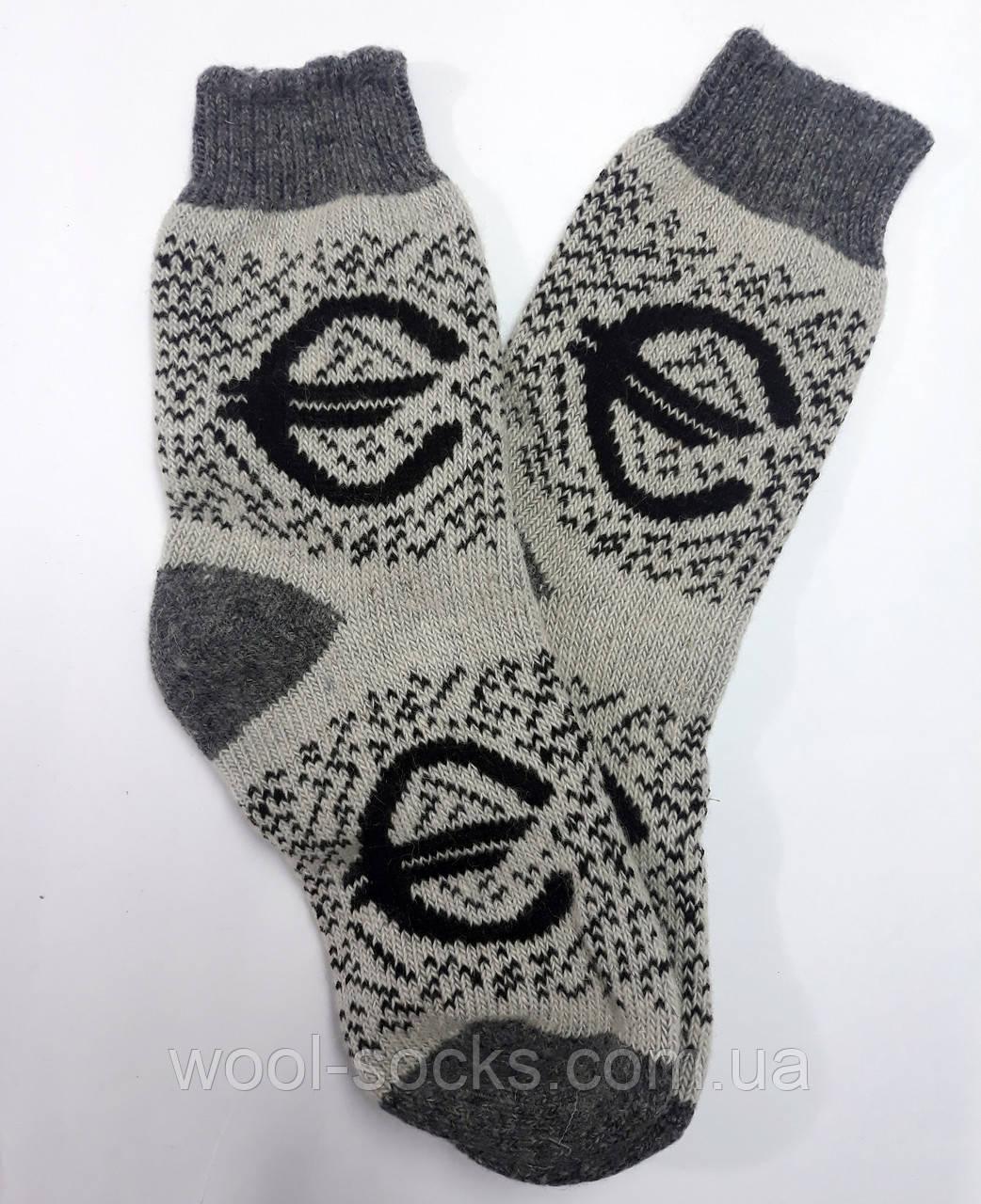 Носки из шерсти натуральной
