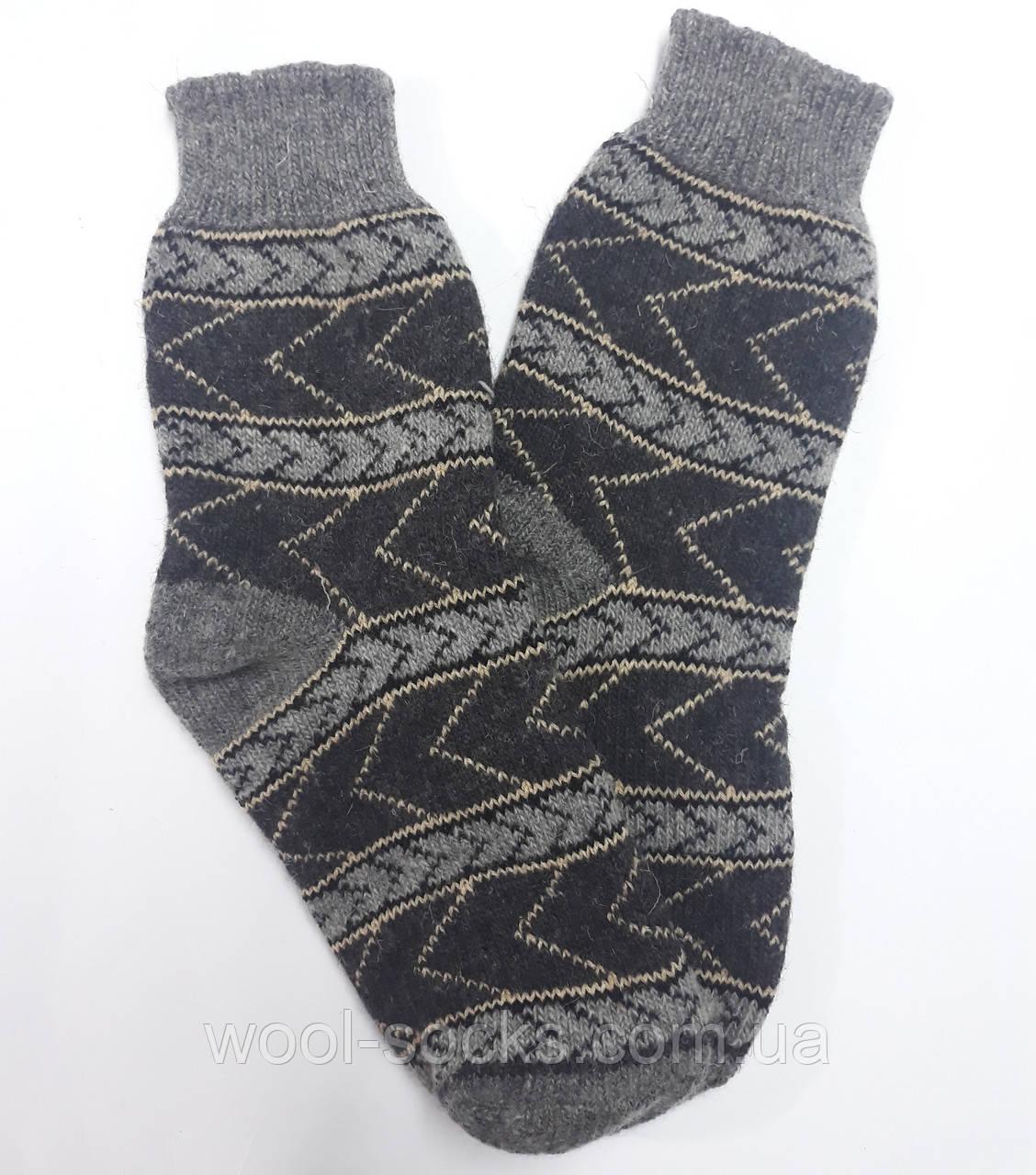 Носки из овчины мужские