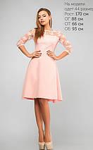 Женское платье с ажурным гипюром (3139 lp), фото 3