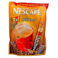 Кофе Nescafe 3 в 1 Creamy Крими 52*16г (12)
