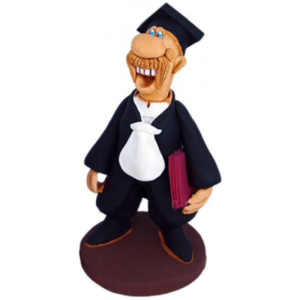 Керамічна фігурка професії Суддя у мантії
