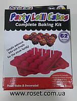 Силиконовая форма для выпечки Pop Cake(Поп Кейков) - Party Lolli Cakes, фото 1