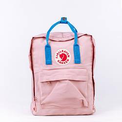 Спортивный рюкзак Fjallraven Kanken розового цвета (люкс копия)