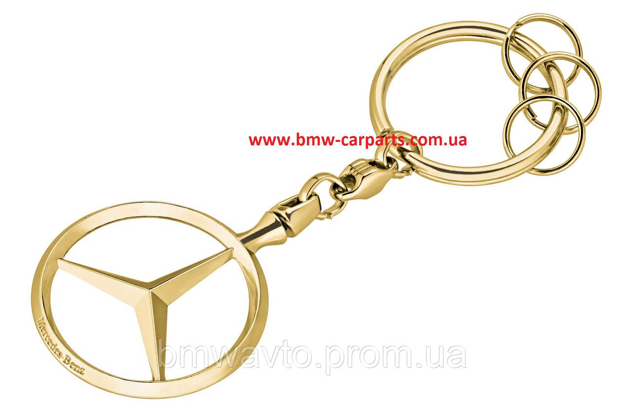 Брелок Mercedes-Benz Key Chains Brussels, Gold-coloured 2018