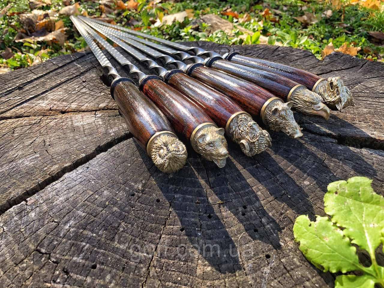 Шампура ручной работы 75 см.