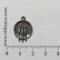 Стильная Штучка Подвеска Столовые приборы, тибетское серебро
