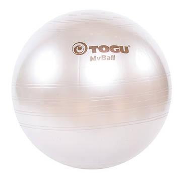 Мяч фитнес TOGU 75 см, MyBall, серебро