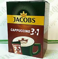 """Кофе JACOBS 3 в 1 """"Cappuccino"""" 24*14,8г"""