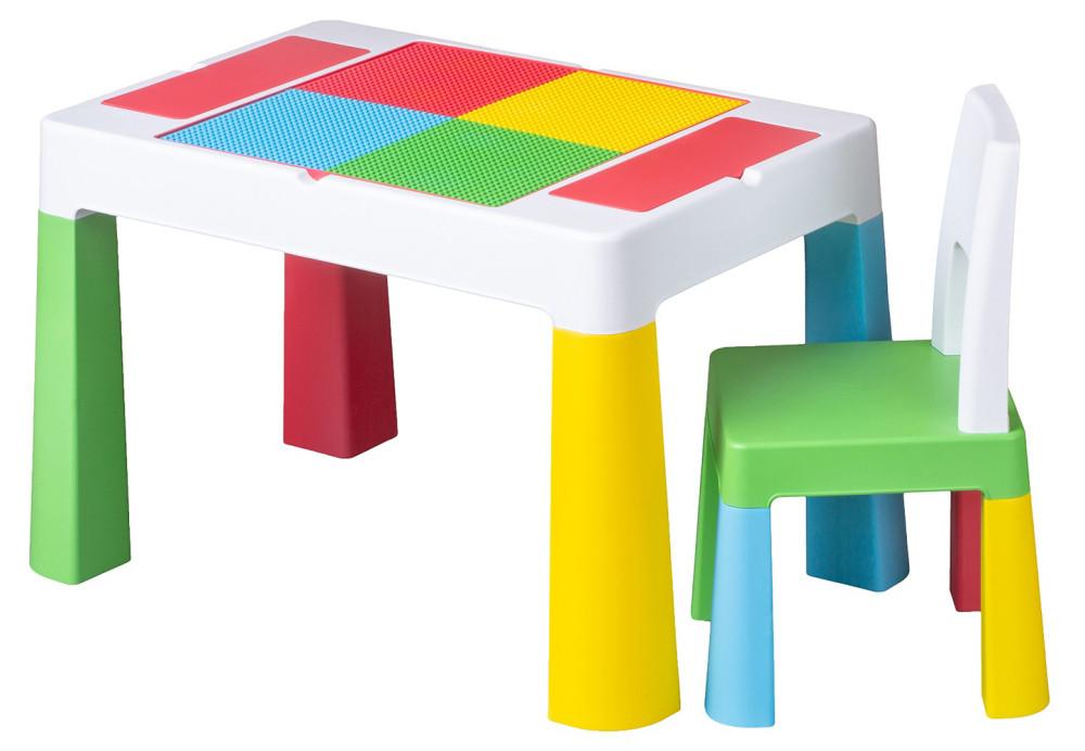 Стіл і стілець Tega Multifun Eco MF-004 134 multicolor