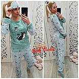 Женский домашний костюм/пижама с повязкой для сна (6 цветов), фото 2