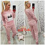 Женский домашний костюм/пижама с повязкой для сна (6 цветов), фото 8