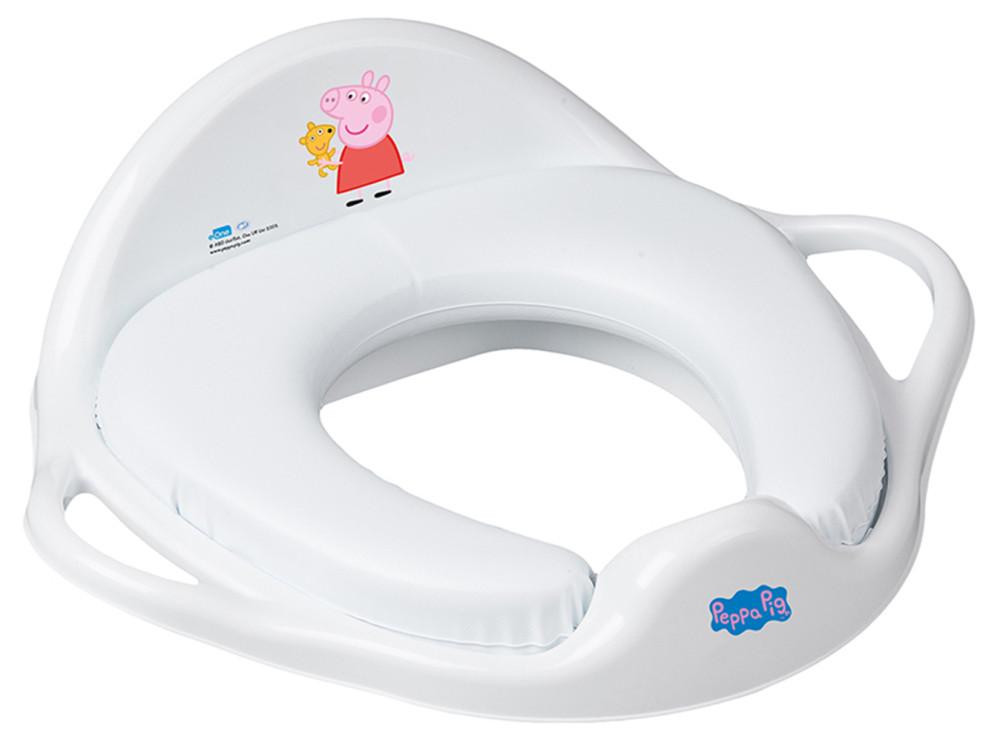 Накладка на унитаз Tega Peppa Pig PP-020 Soft мягкая 103-R white-pink