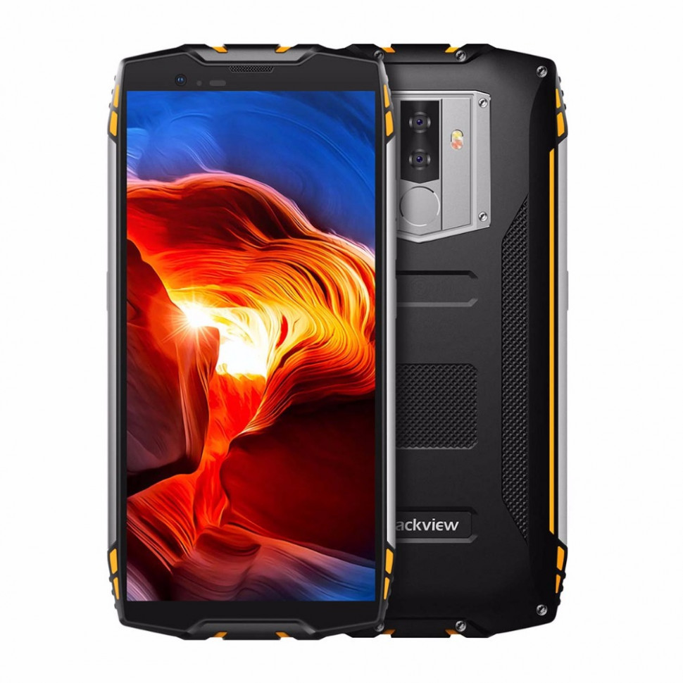 Защищенный смартфон Blackview BV6800 Pro 4/64gb Gold ip68 MT6750T 6180 мАч