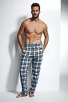 691-18 Брюки пижамные для мужчин 12 Cornette графитово-бирюзовый (XL)