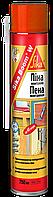 Полиуретановая бытовая монтажная пена Sika Boom -W, с возможностью нанесения до -12°С