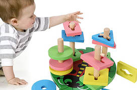 Сортеры и развивающие игрушки для самых маленьких