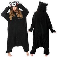 Кигуруми черный медведь (пижама) krd0068