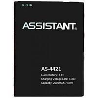 Аккумулятор 100% оригинал Assistant AP-4411/ 4421