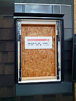 Оклад для окна мансардного Roto Designo EDR Rх WD 1X1 BTN AL 13/16