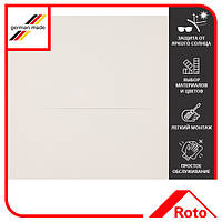 Шторка затемняющая Roto Designo ZRV R4/R7 DE 07/11 E AL 1-V01