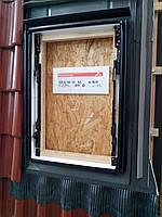 Оклад для окна мансардного Roto Designo EDR Rx WD 1x1 HZI AL 07/14
