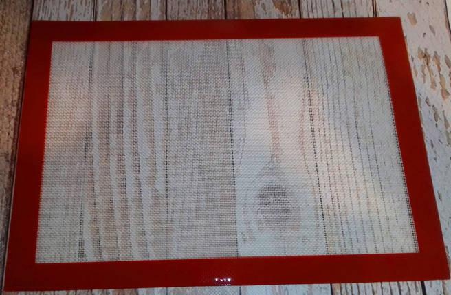 Коврик силиконовый для выпечки 42*29 см, фото 2