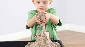 Кинетический песок и масса для лепки