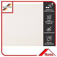 Шторка тканевая Roto Designo ZRE R6/R8 DE 07/11 M AL 1-R01