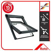 Окно мансардное Roto QT-4_H3P AL 094/140 P5F