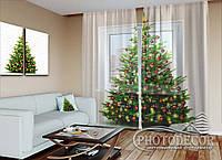 """Новогодний ФотоТюль """"Новогодняя елка"""""""
